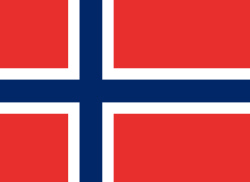 Norwegische Nationalflagge